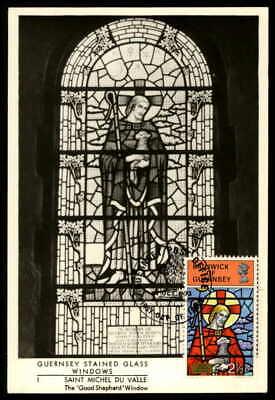 Angemessen Guernsey Mk 1973 Kunst Kirchenfenster Maximumkarte Carte Maximum Card Mc Cm Ep12 Extrem Effizient In Der WäRmeerhaltung