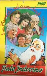 Calendario Frate Indovino.Dettagli Su Frate Indovino Calendario 1999 Con Scritte All Interno