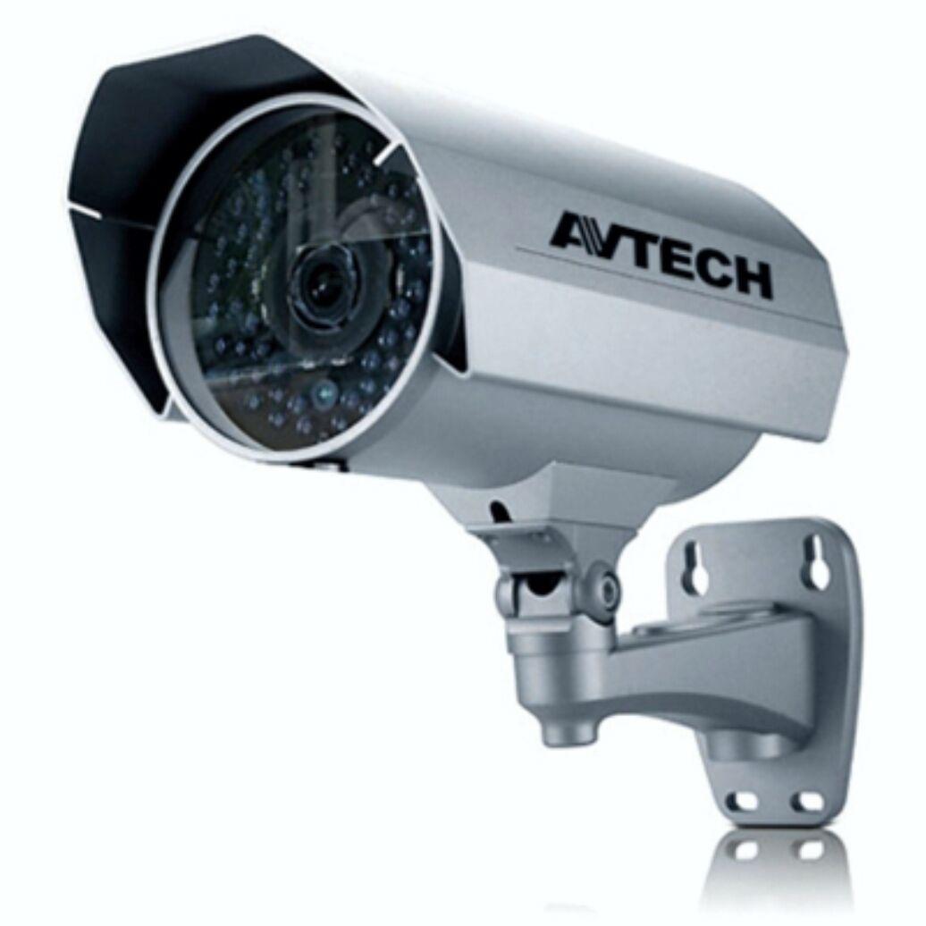 AVN252ZVP F60-S F60-S AVN252ZVP Avtech lente 6 mm CCTV cámara exterior IP - 56 IR LED avt_010 abb550