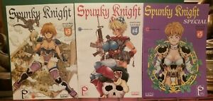 1995-Spunky-Knight-3-4-5-Eros-Comix-Mangerotica-High-Grade-Bagged-amp-Boarded