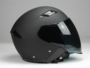 jethelm langvisier jet200 motorradhelm roller helm matt. Black Bedroom Furniture Sets. Home Design Ideas
