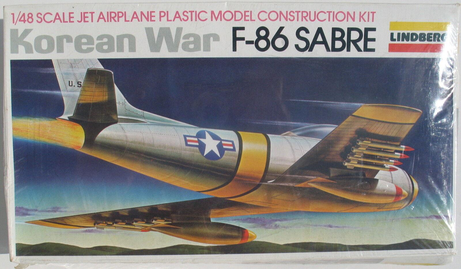 LINDBERG 2323 - F-86 SABRE - Korean War - 1 48 - Flugzeug Modellbausatz - Kit