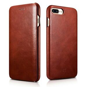 Novada-Genuine-Leather-Flip-Case-Cover-for-iPhone-8-Plus-amp-7-Plus-Vintage