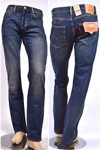1. Choix! Levi's ® Jeans 501 Hook 1307 Used Délavé 100% Coton Taille 33/34/36/38/40 Petit Profit