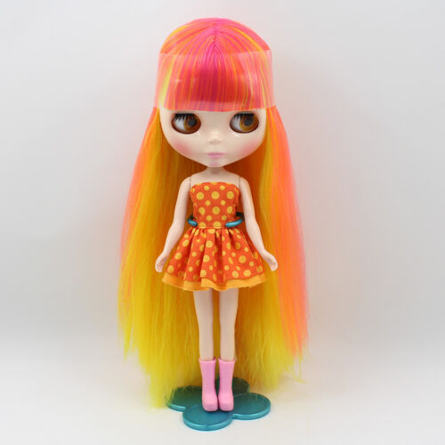 """Takara 12/"""" Neo Blythe Nude Doll Long Hair from Factory TBY273"""