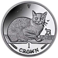 Isle of Man 1996 Burmese Cat Unc. CuNi Coin