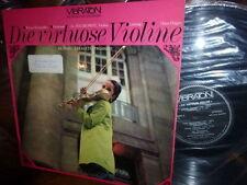 Virtuose Violin Zsigmondy Wiener Kolonaden Hagen Vibrat