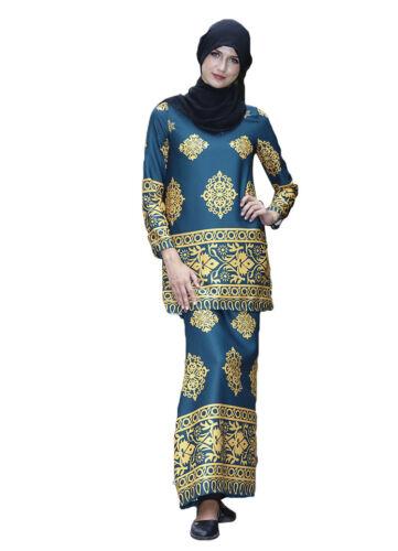 Muslim Women Ladies Top+Long Skirt Prayer Dress Kaftan Arab Set Clothes Islamic