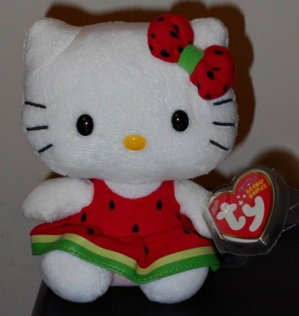 Ty 9331 Beanie Baby Hello Kitty Watermelon for sale online  fc2cb3904235