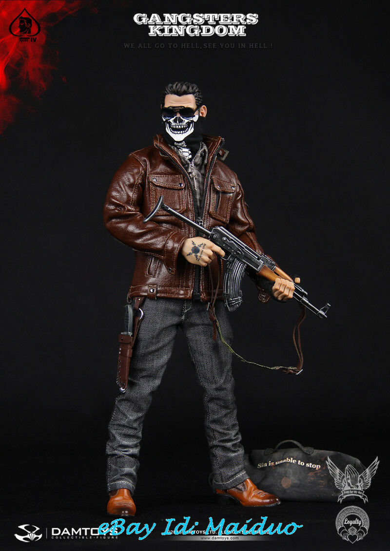 1/6 DAMTOYS GK004 Spade 4 Action Figure Gangsters Kingdom Collectible Toys