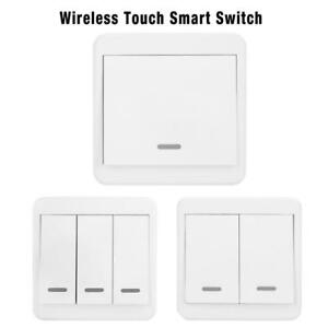 Wireless-Wandschalter-Smart-WiFi-Lichtschalter-Panel-Taster-ALEXA-Google-Home