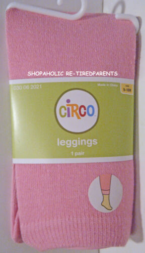 PINK STRETCH COTTON WINTER WEIGHT KNIT NWT INFANT SIZE 9-18 MO LEGGINGS