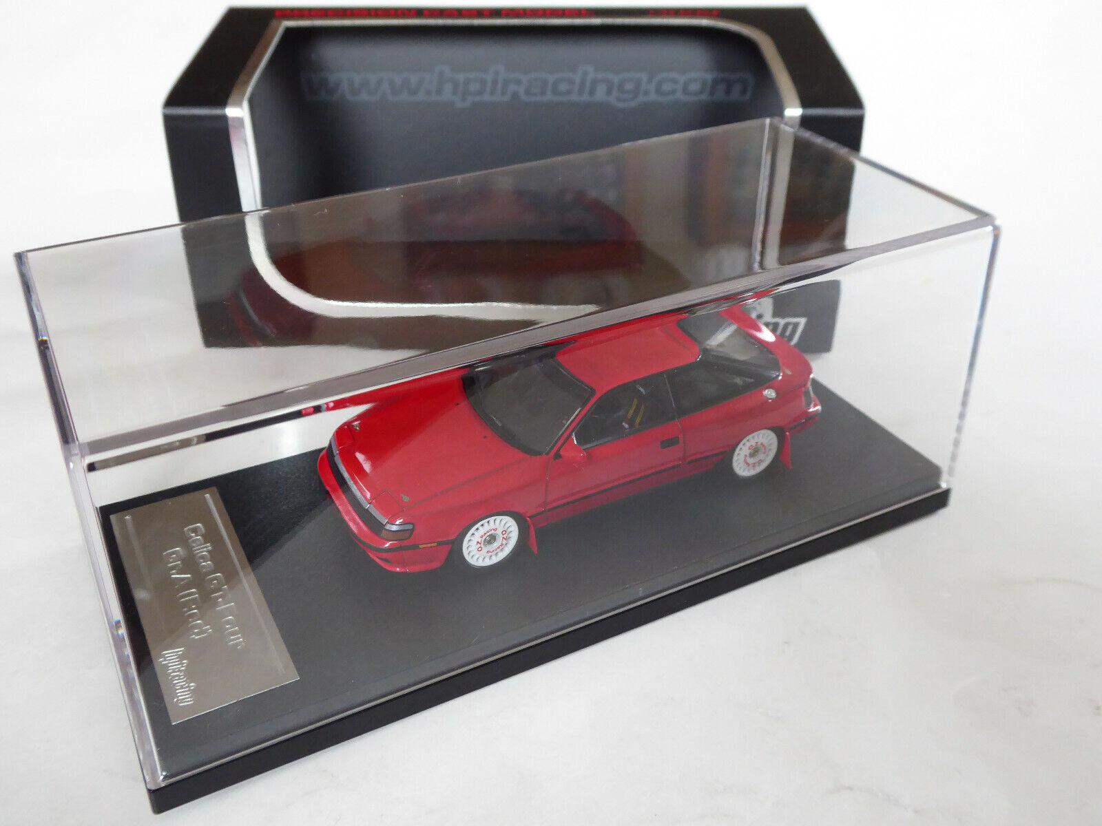 HPI 1 43 Toyota Celica GT-Four (ST165) Gr.A Street Test Car rouge rouge OVP 8164 WRC