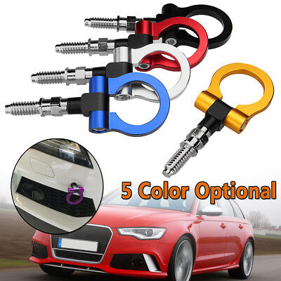 Auto Racing Trailer Ring Tow Towing Hook Fits For BMW Mercedes-Benz Audi NEW Z!