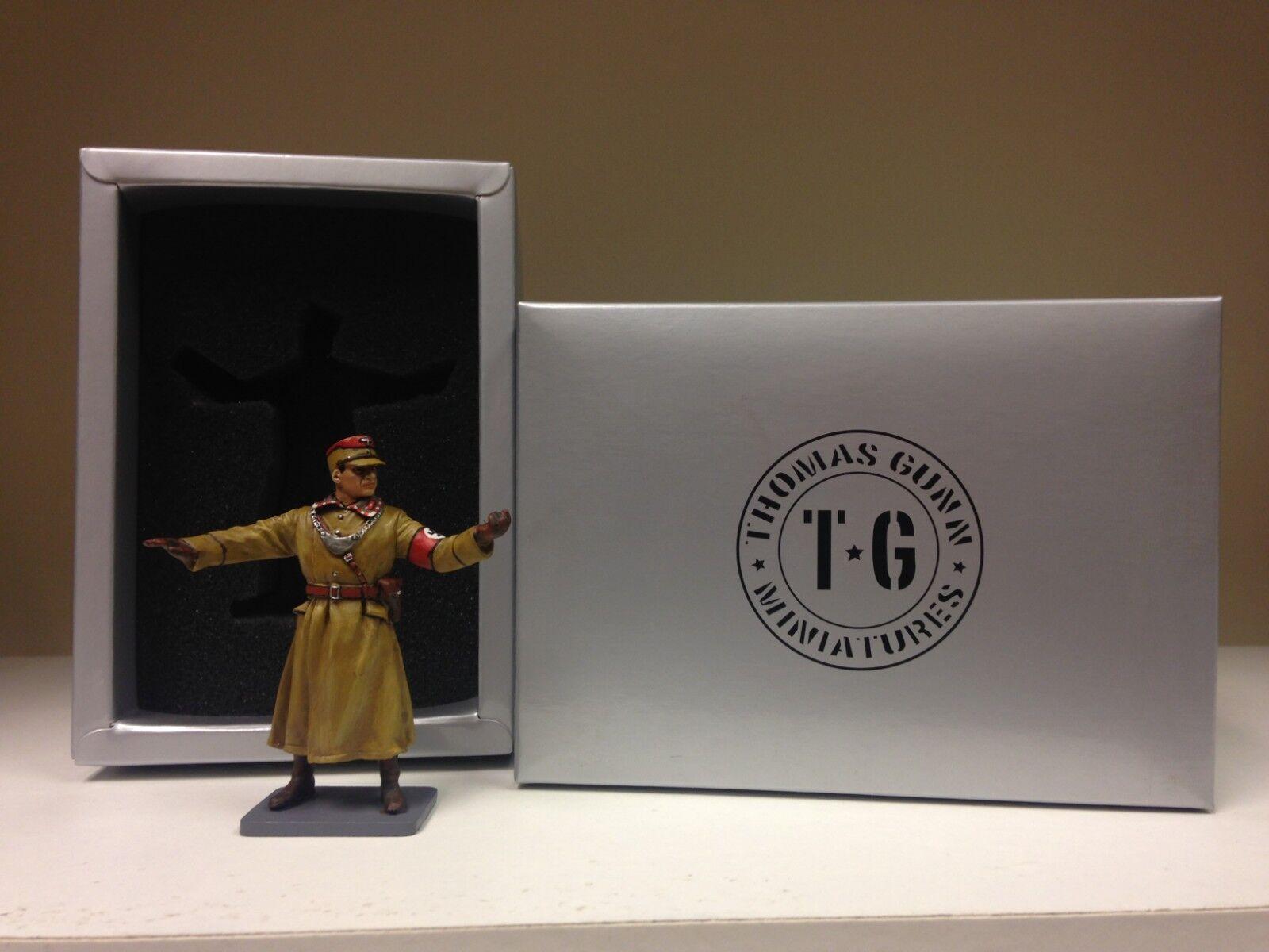 THOMAS GUNN WW2 GERMAN NORMANDY BER004A SA POLICEMAN DIRECTING TRAFFIC MIB