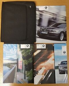 GENUINE-BMW-3-SERIES-E90-2005-2008-HANDBOOK-OWNERS-WALLET-AUDIO-PACK-H-164