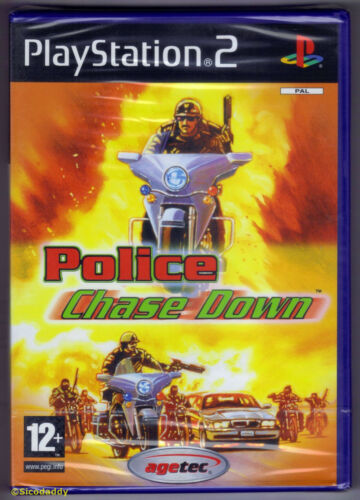 1 of 1 - PS2 Police Chase Down (2004), UK Pal, Brand New & Sony Factory Sealed