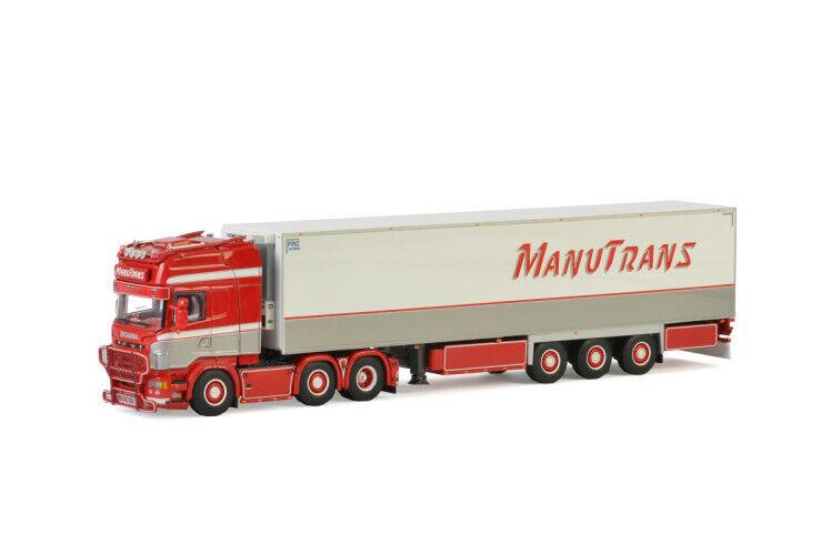 Scania - R Topline Carrier - Kühlauflieger Manutrans 01-2424 2676   1 50