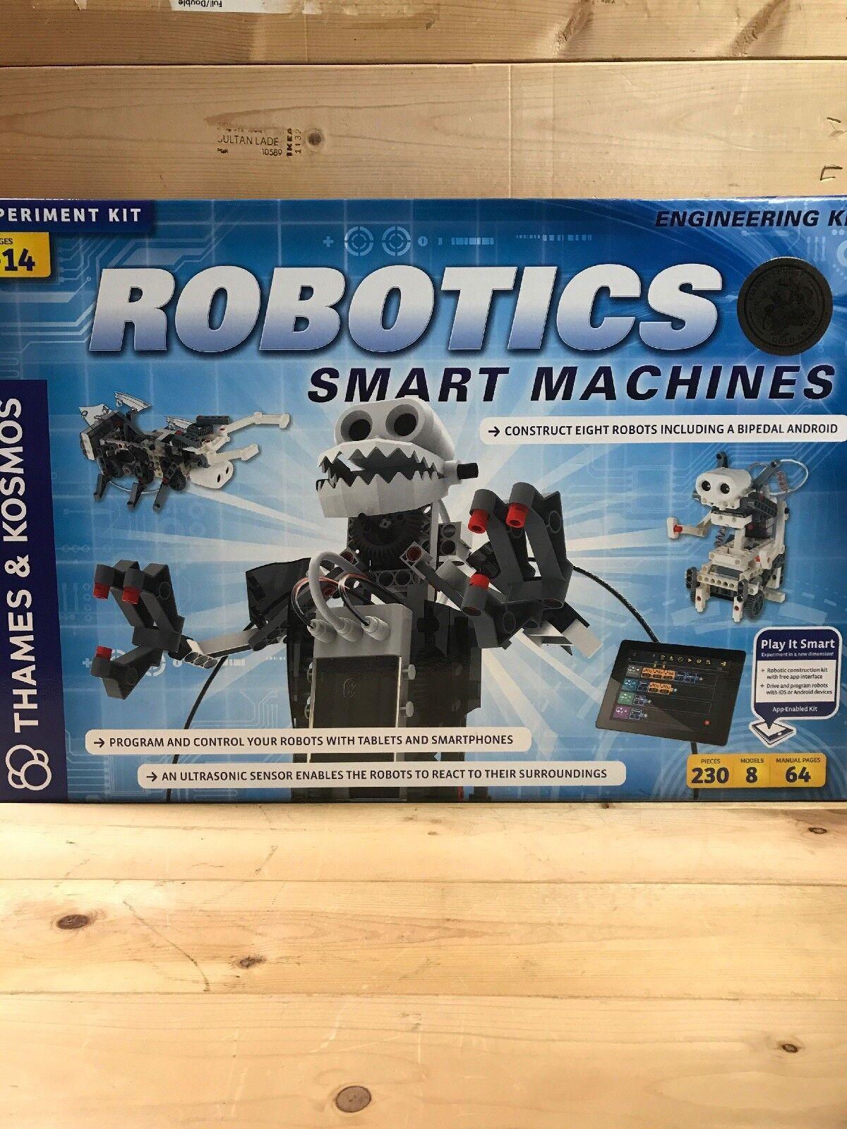 Nueva marca Thames & Kosmos robótica  máquinas inteligentes Kit Ciencia