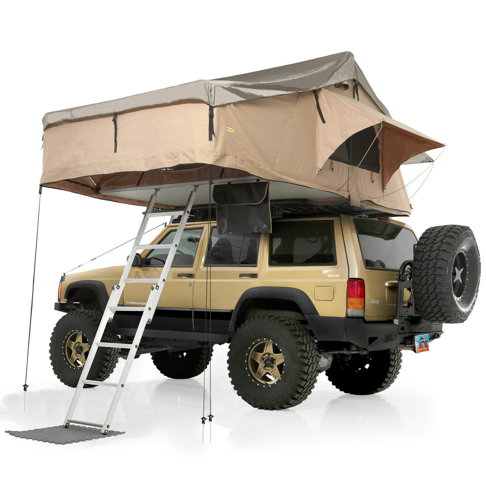 Smittybilt Xl Overlander Roof Top Tent W King Size