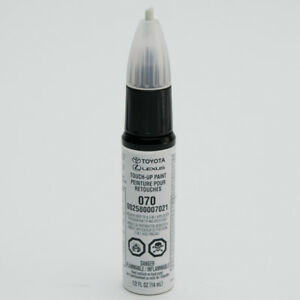Image Is Loading Toyota Touch Up Paint 070 Blizzard Pearl 00258