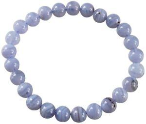 Bracelet-Calcedoine-Bleue-Perles-Rondes-8-mm