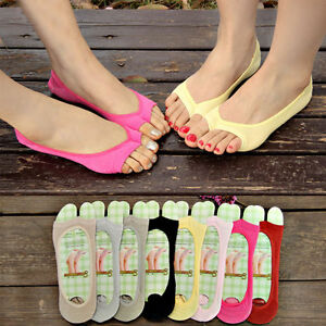 4c03042cf Womens Toeless Peep Toe Open Toe Flip Flops Sandal Sock Footsies ...