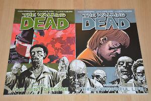 lot-2-comics-BD-The-Walking-Dead-tomes-5-et-6-version-americaine-USA-anglais