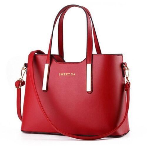 Fashion Women/'s New 2017 Leather Handbag Shoulder Messenger Bag Satchel Purse