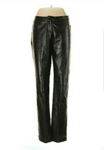 Tommy Hilfiger Leather Pants NWOT - Size 2