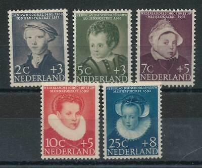 Romantisch 288112 Niederlande & Kolonien Niederlande Nr.685-689* Voor Het Kind Kinderportraits Reich Und PräChtig