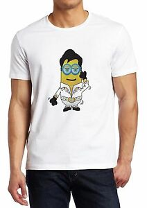 Despicable Me Minions Elvis Disco Minion Parody Shirt Custom Made T