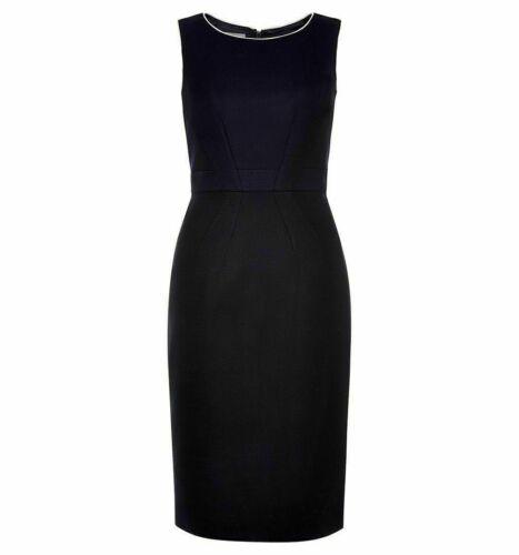 Ellie James Navy Yvonna Shift Work Dress Size 8-14