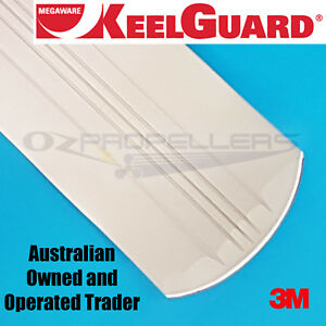 Details about  /Megaware 20107 Keelguard 7/'L White Keel Protector