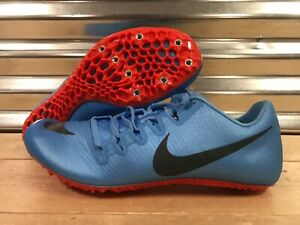 2f9dbf442663 Nike Zoom JA Fly 3 Track Spikes Football Blue Orange Grey SZ ...