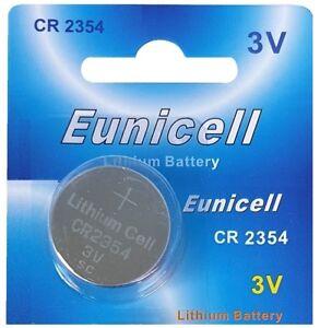 Zielsetzung 1 X Cr2354 3v Lithium Batterie Ohne Vertiefungsrille Eunicell Durchblutung GläTten Und Schmerzen Stoppen Akkus & Batterien
