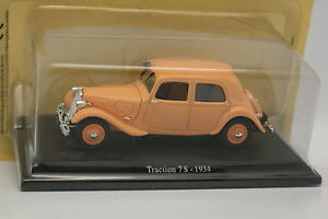 Universal-Hobbies-Presse-1-43-Citroen-Traction-7-S-1934