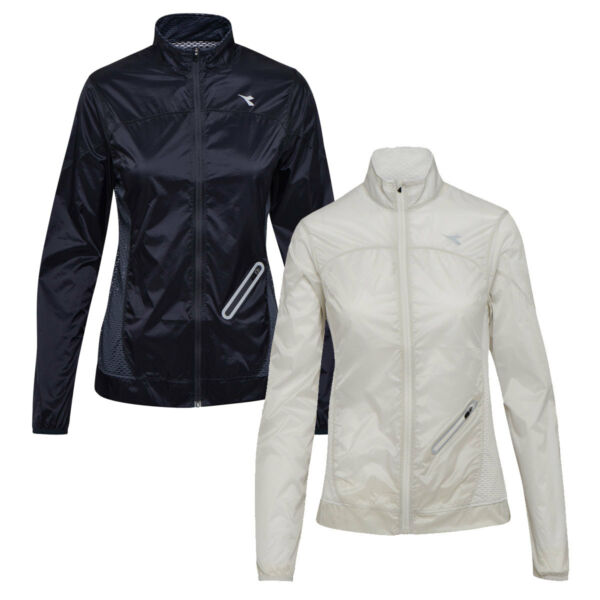 DIADORA L. WIND JACKET 2018 Damen Laufjacke Windjacke Trainingsjacke 102173182