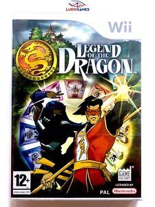Legend-Of-Dragon-Wii-Pal-Eur-Retro-Scelle-Videojuego-Neuf-Nouveau-Scelle