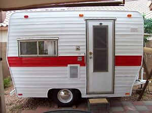 Image Is Loading Vintage 13 Ft Canned Ham Camper Trailer PLANS
