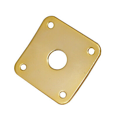 New Black Square Output Jack Plate For Electric Guitar Epiphone Les Paul A584