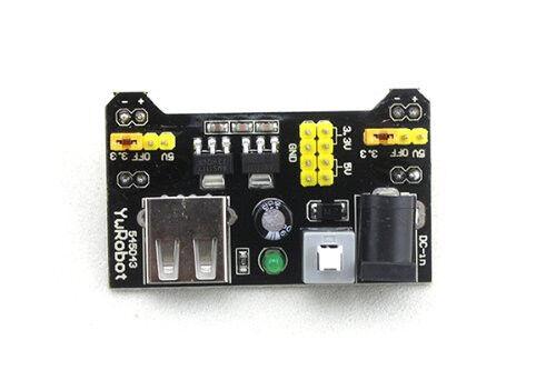 5 Board Mb102 Protoboard fuente de alimentación módulo 3.3 v/5v Para Arduino
