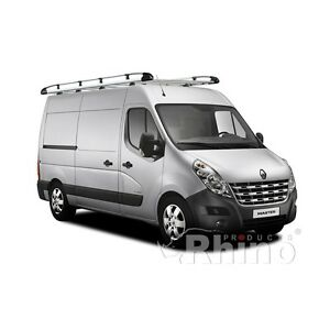 galerie de toit aluminium renault master l2h2 d s 2010 ebay. Black Bedroom Furniture Sets. Home Design Ideas