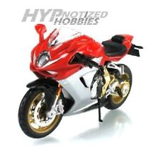 MAISTO 1:12 MOTORCYCLE 2012 MV AGUSTA F3 SERIES ORO RED/WHITE 11095