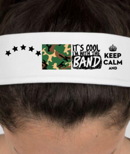 PERSONALIZED CUSTOM SPORT HEAD BAND