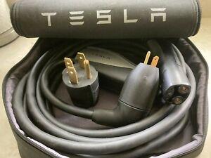 Tesla Model S X 3 Gen Mobile Charger Bundle cord charging ...