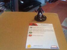 Marvel Heroclix Avengers Super Raro Con Tarjeta #49 dos pistola niño