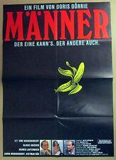 Männer - Uwe Ochsenknecht - Heiner Lauterbach - A1 Filmposter Plakat (j-9881