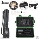 5000Lm Zoomable CREE XM-L T6 USB LED 18650 Rechargeable Battery Flashlight Torch