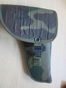 Genuine Army Issued Camo Webbing Pistol Gun Holster Handgun Pouch Holder  {K}